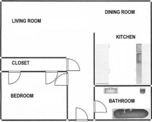 1BED FLAT